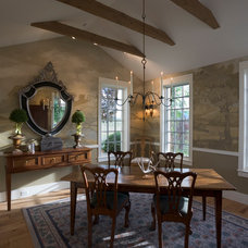 traditional dining room by roth sheppard architects