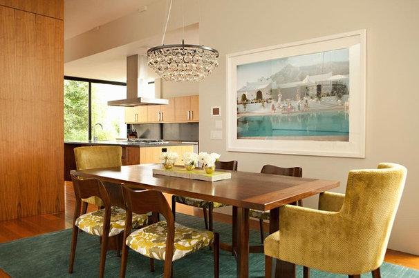 Modern Dining Room by Chris Barrett Design