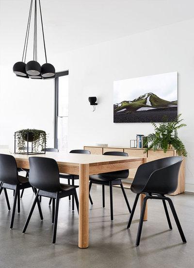 コンテンポラリー ダイニング by Zunica Interior Architecture & Design