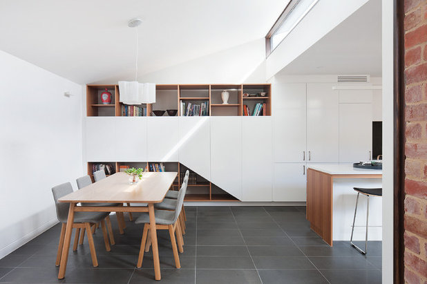 Contemporary Dining Room by Constructing Spaces