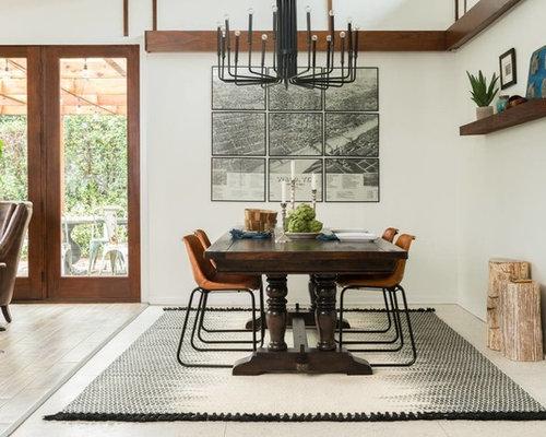 fixer upper dining room design ideas remodels photos. Black Bedroom Furniture Sets. Home Design Ideas