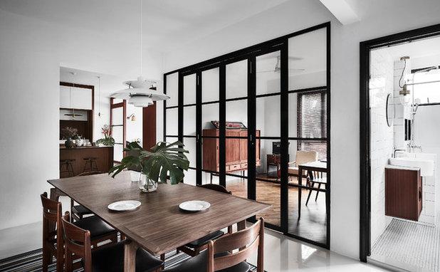 Skandinavisk Spisestue by Icon Interior Design Pte Ltd