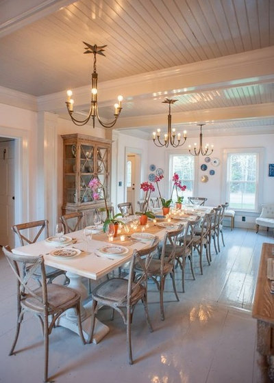 room of the day romancing a maine dining room
