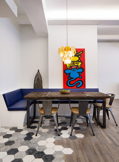 Contemporary Dining Room by Matiz Architecture & Design