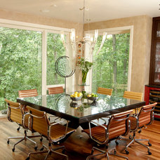 contemporary dining room by Jaque Bethke for PURE Design Environments Inc.