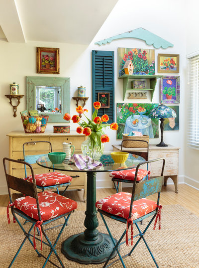 Country Dining Room by Mary Ann Shaklan