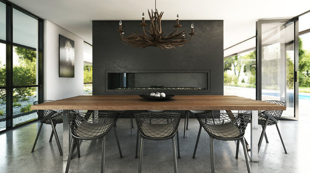 Modern Dining Room by Destination Living