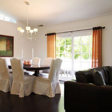 Contemporary Dining Room Flipping Out / Jeff Lewis Design