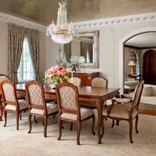 Traditional Dining Room by Gibson Gimpel Interior Design