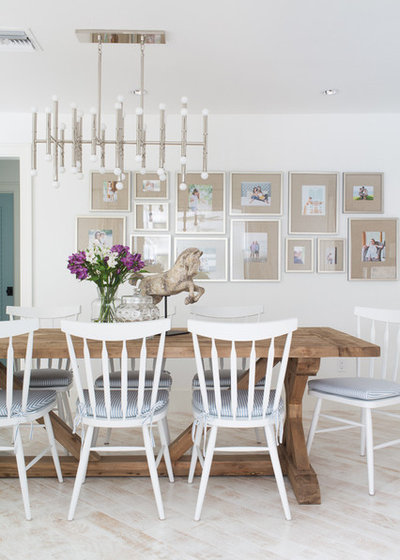 Beach Style Dining Room by Lischkoff Design Planning