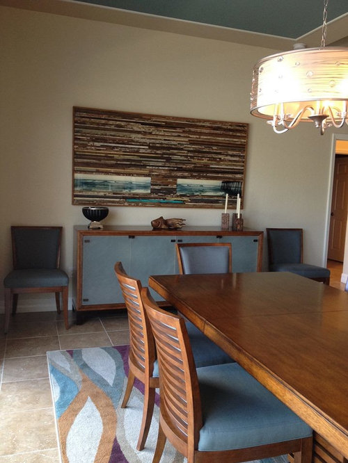Beach Style Detroit Dining Room Design Ideas, Remodels & Photos