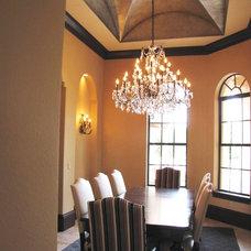 Mediterranean Dining Room by Jessica Stewart of Ethan Allen Orlando