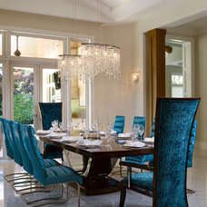Contemporary Dining Room by Hollub Homes