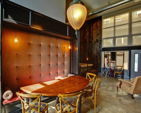 2,308 semi circle table Dining Room Design Photos - Semi Circle Table Dining Room Design Ideas, Remodels & Photos