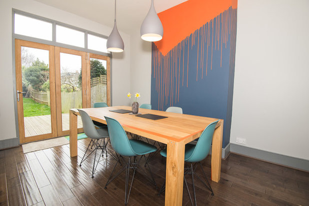 Contemporary Dining Room by JackJames Furniture