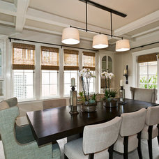 Traditional Dining Room by Urban Chalet Inc.