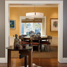 Contemporary Dining Room by Christopher Hoover - Environmental Design Services