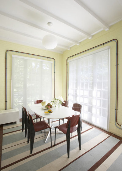 Moderne Salle à Manger by Robert Kaner Interior Design