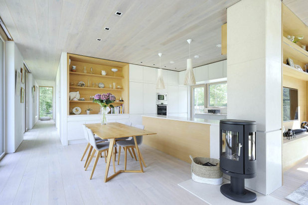 Contemporary Dining Room by PAD Studio