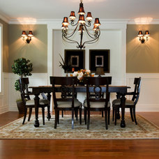 Traditional Dining Room by Concord Lumber Corporation