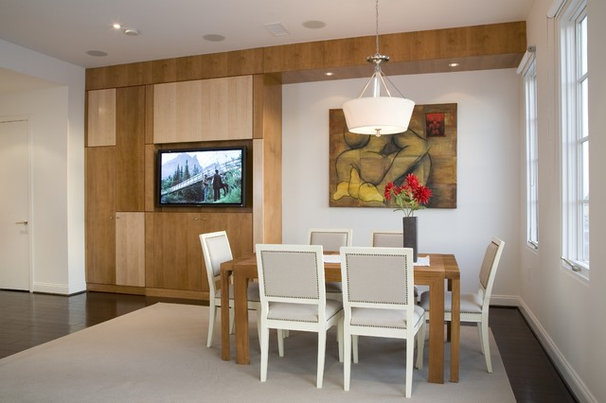 Contemporary Dining Room by FORMA Design