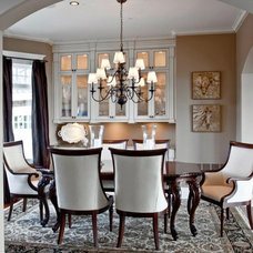 Traditional Dining Room by ARTifact Interior Design