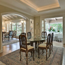 Traditional Dining Room by Chris Donatelli Builders