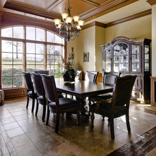 Traditional Dining Room by Celtic Custom Homes