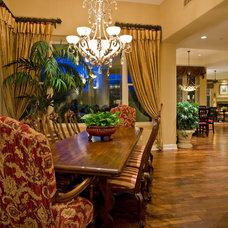 Traditional Dining Room by Lili Fleming-Nieri, ASID