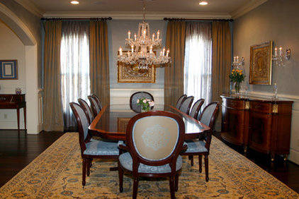 Traditional Dining Room by Dena Brody, ASID, RID