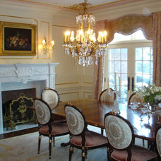 Traditional Dining Room by Marie Meko, Allied ASID