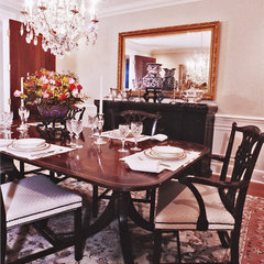 traditional dining room by RANERE DESIGN GROUP