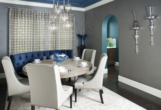 Contemporary Dining Room by RSVP Design Services