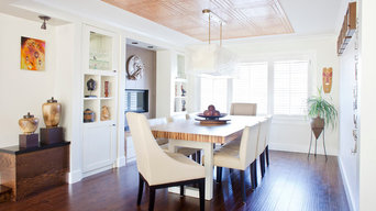 Formal Dining Room used in a Contemporary manner