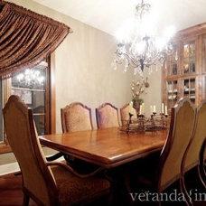Traditional Dining Room by Veranda Estate Homes & Interiors