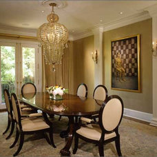 Traditional Dining Room by Jeffrey R Rexford