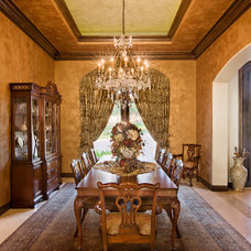 Traditional Dining Room by SML-Designes, LLC