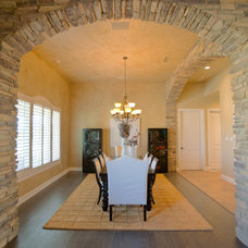 Traditional Dining Room by Anderson Fine Homes