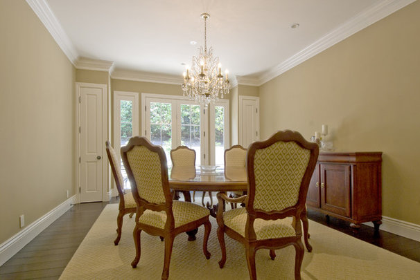 Traditional Dining Room by Canyon Construction