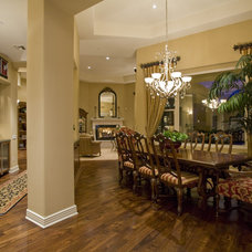 Traditional Dining Room by Lili Fleming-Nieri, ASID