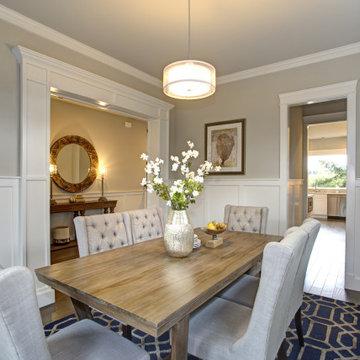 Formal Transitional Dining Room