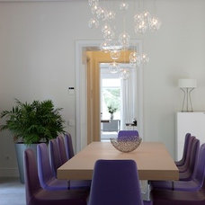 Contemporary Dining Room by KR Interior Design