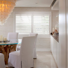 Beach Style Dining Room by RS3 DESIGNS