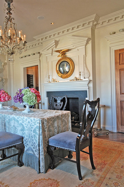 Traditional Dining Room by Hull Historical