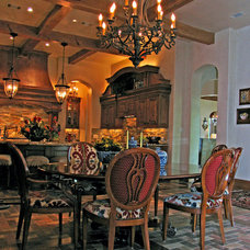 Traditional Dining Room by k.sutherland design