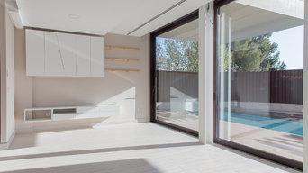 Fotografías de una vivienda para arquitecto