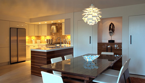 Contemporary Dining Room Fougeron Architecture
