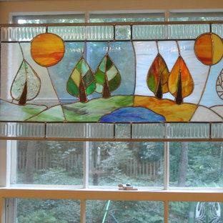 Four Seasons panel close up