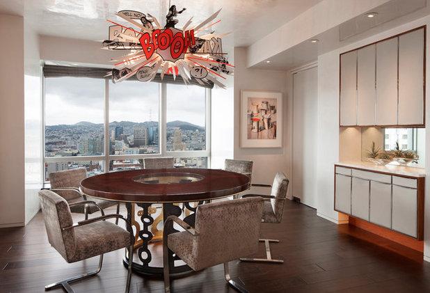 Moderno Sala da Pranzo by Saint Dizier Design