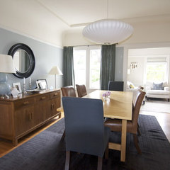 contemporary dining room by Lucy McLintic